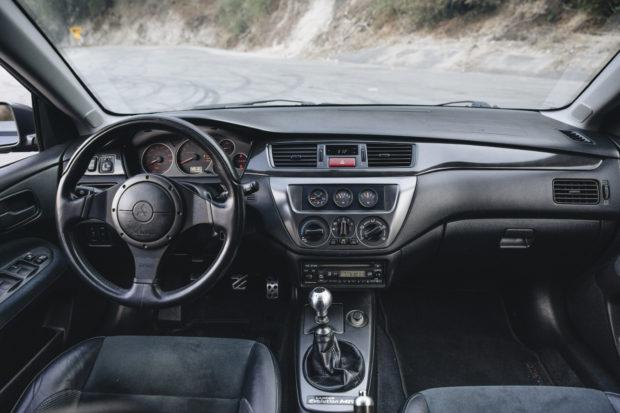 2006 Mitsubishi Lancer Evolution IX MR Interior