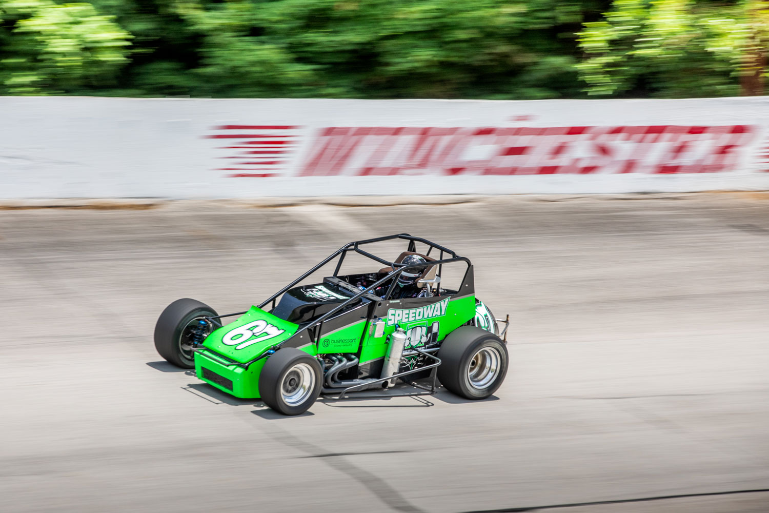 Kyle at Winchester Speedway