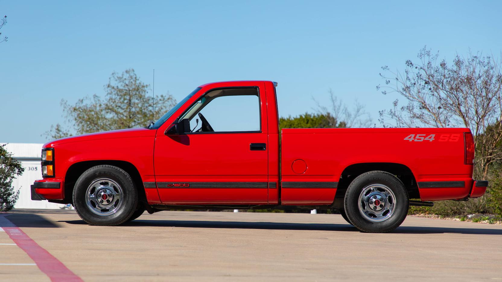 1993 Chevrolet 454 SS profile