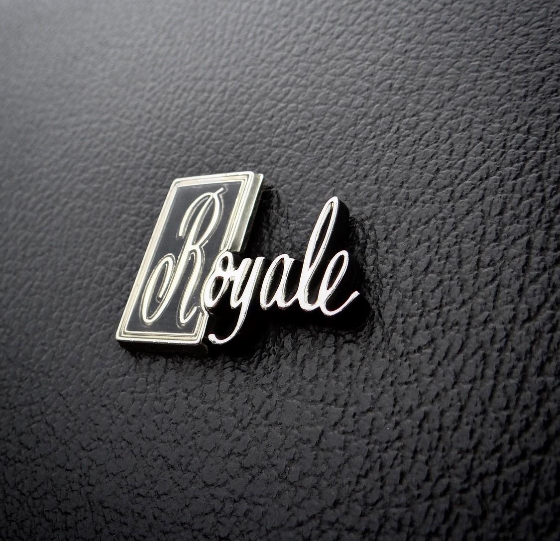 Delta 88 Royale badge