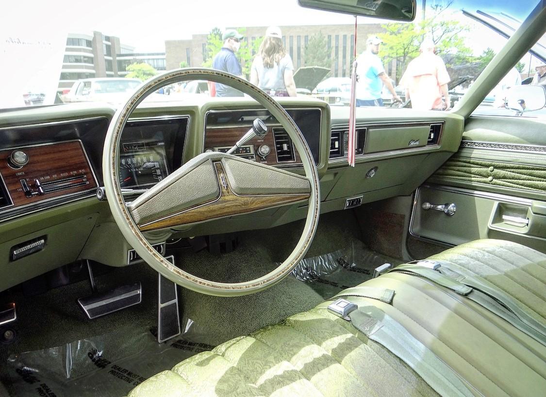 Delta 88 steering wheel