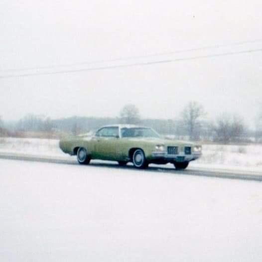 Delta 88 in snow