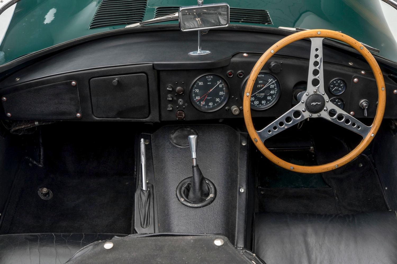 1956 Jaguar XKSS Interior