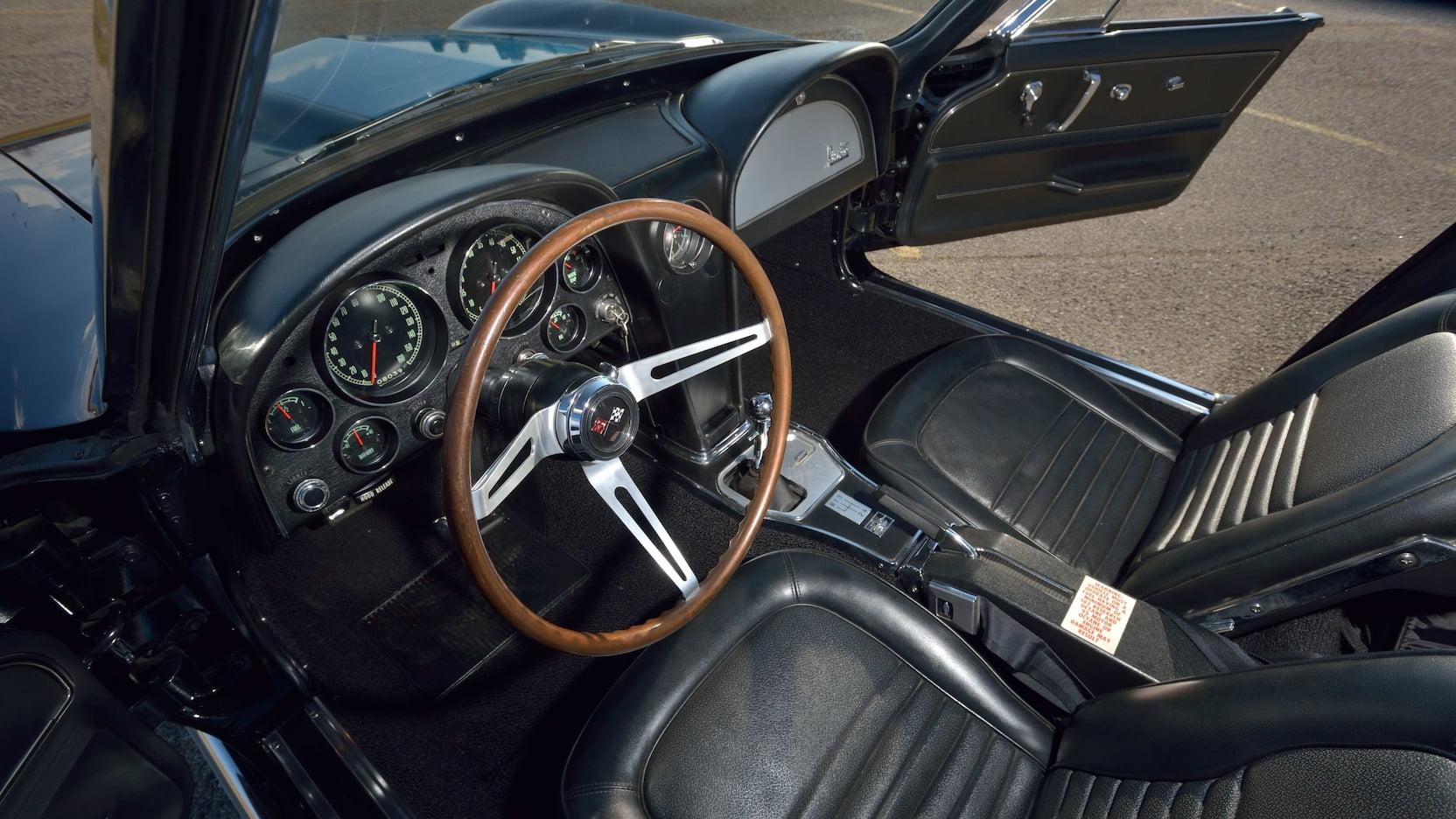 1967 Chevrolet Corvette L88 Convertible Interior