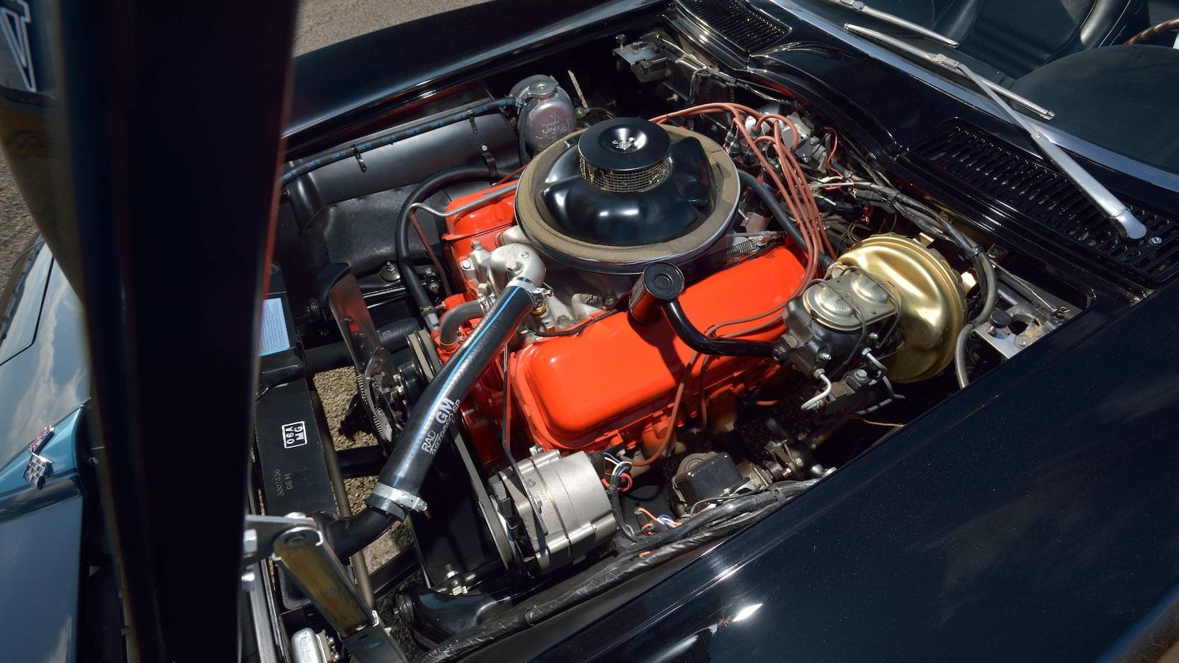 1967 Chevrolet Corvette L88 Convertible Engine