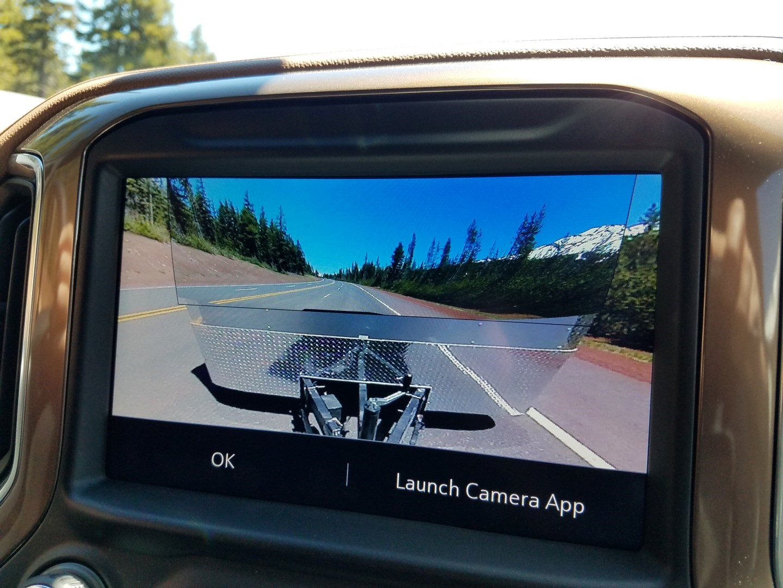 2020 Chevrolet Silverado HD back up camera