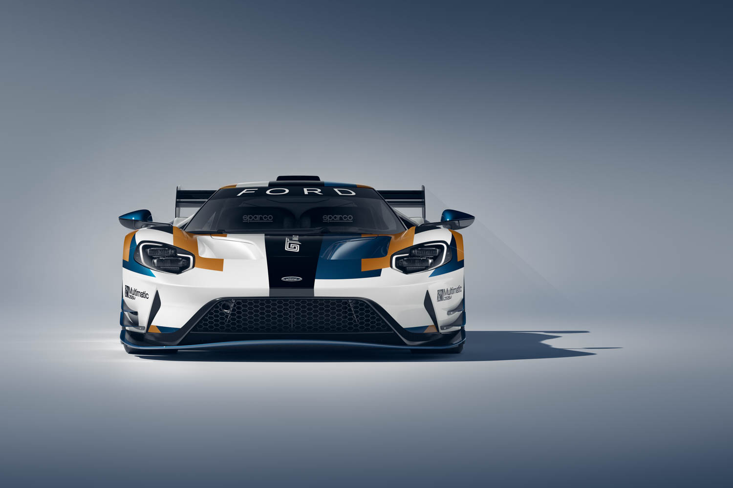 Ford GT Mk II front