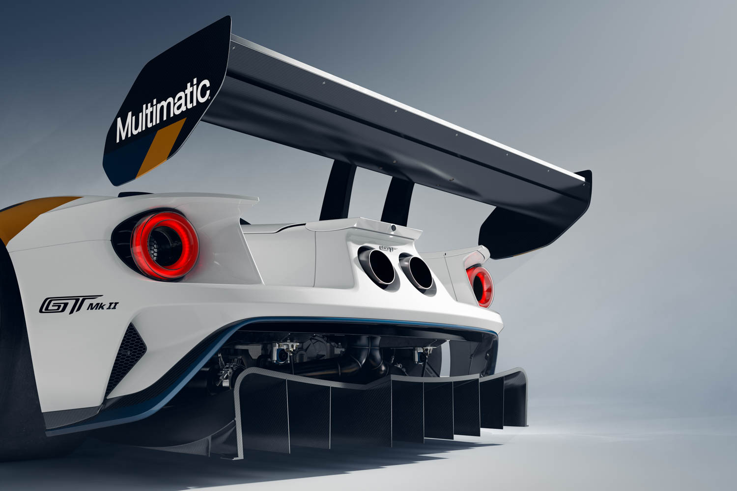 Ford GT Mk II wing