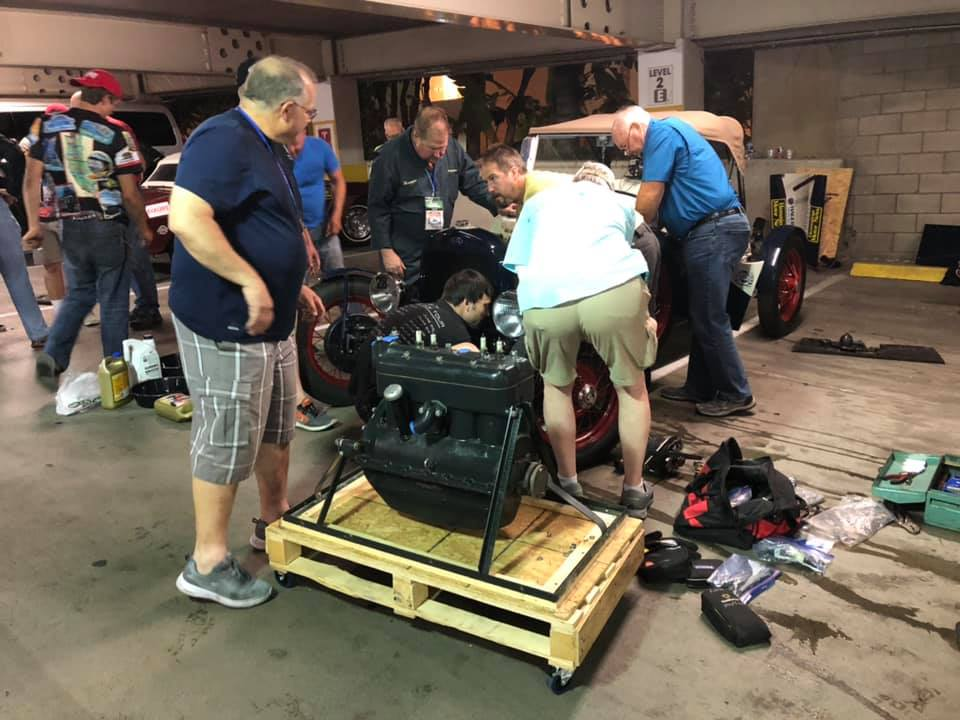 Model A Engine swap