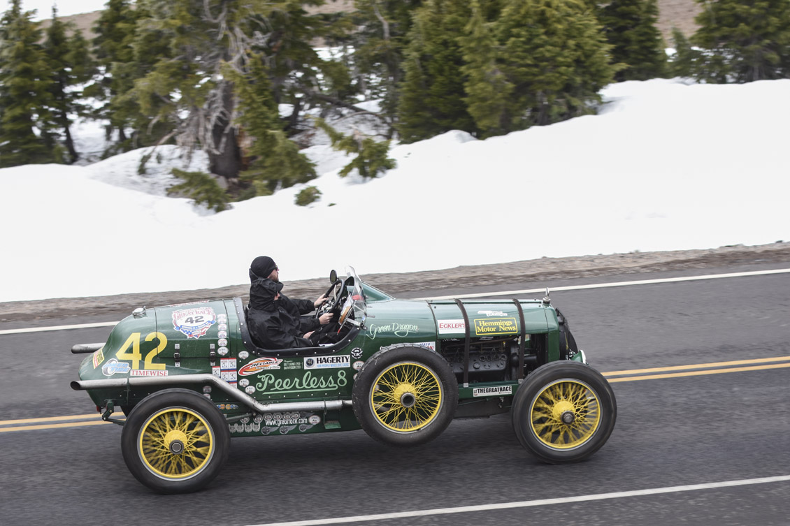 Peerless Green Dragon at the Great Race