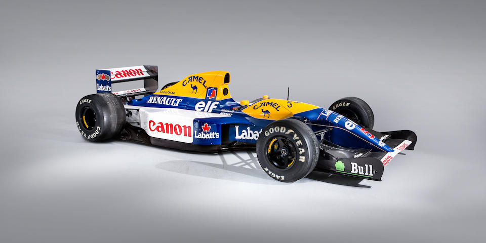 1992 F1 World Champion Nigel Mansell's Williams-Renault 'Red Five'