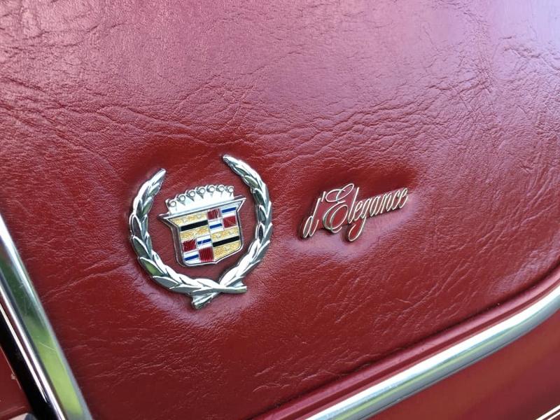 1987 Cadillac badge