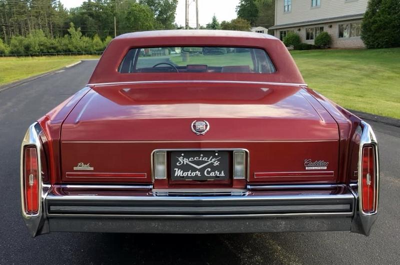 1987 Cadillac rear
