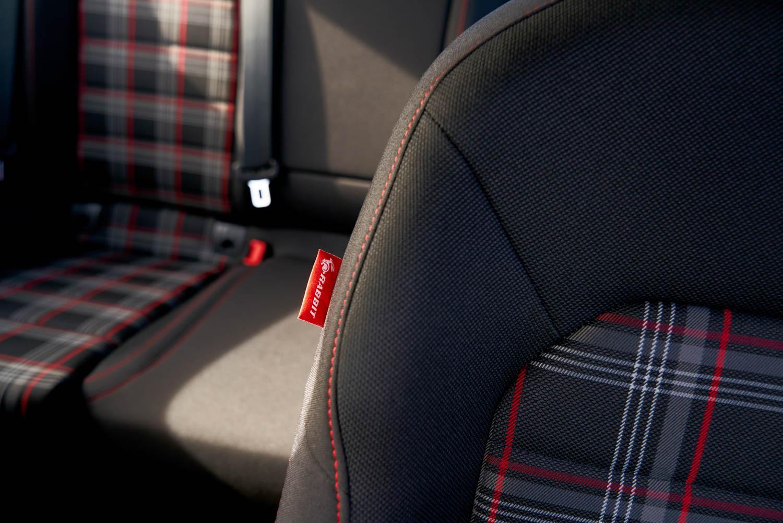 2019 GTI Rabbit Edition seat