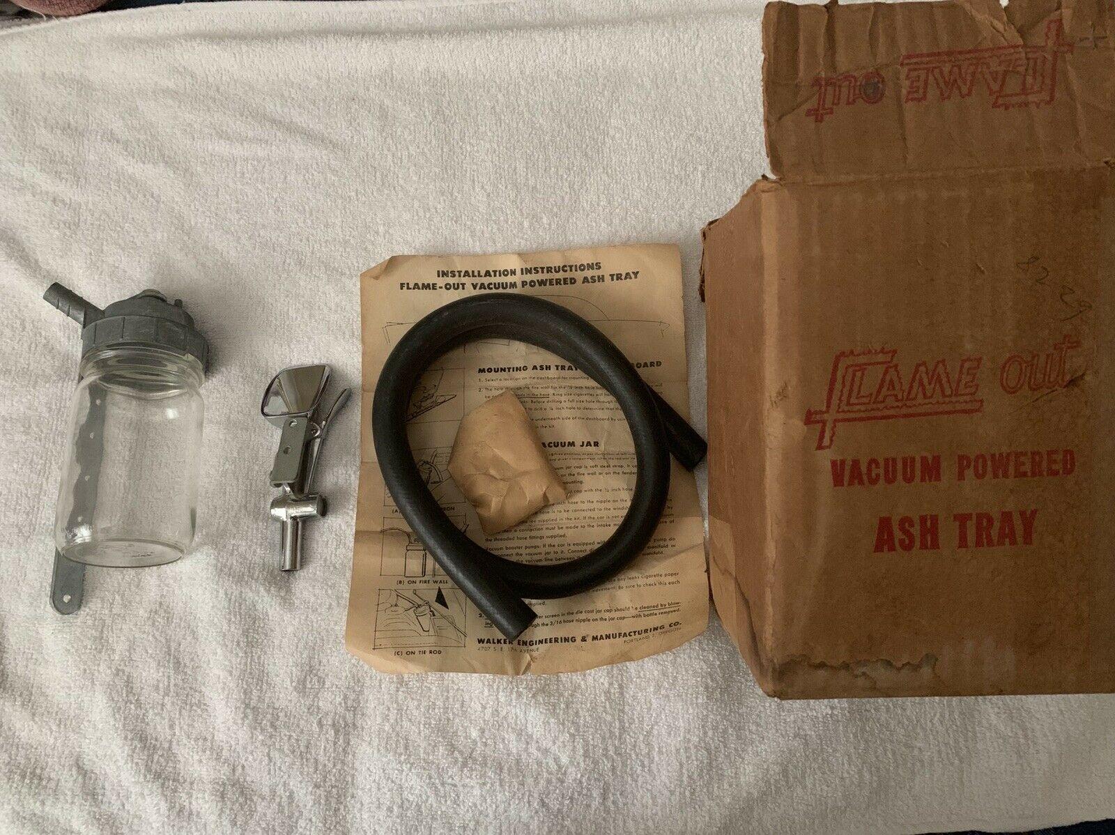 Vacuum Ashtrays