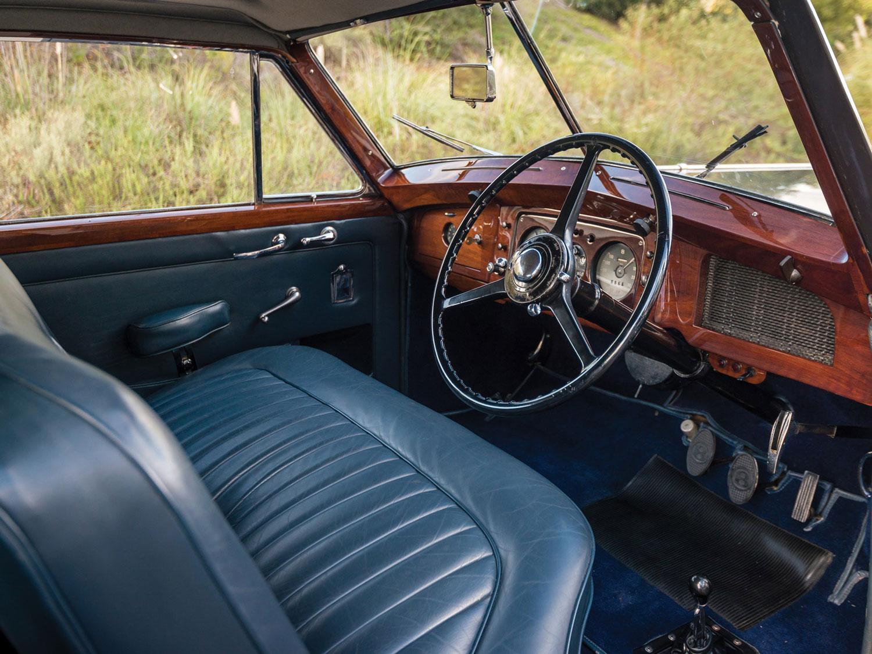1948 Bentley Mark VI Interior