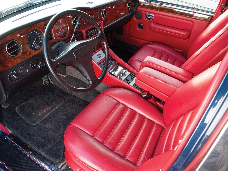 1991 Bentley Turbo R Interior