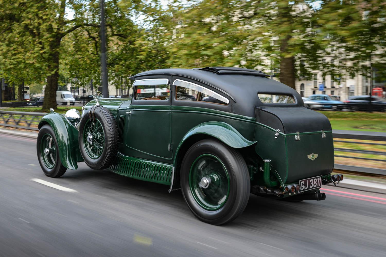 Bentley Blue Train