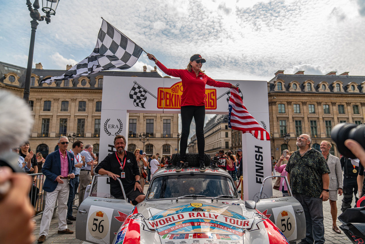 Renée Brinkerhoff Peking-to-Paris Motor Challenge 2019