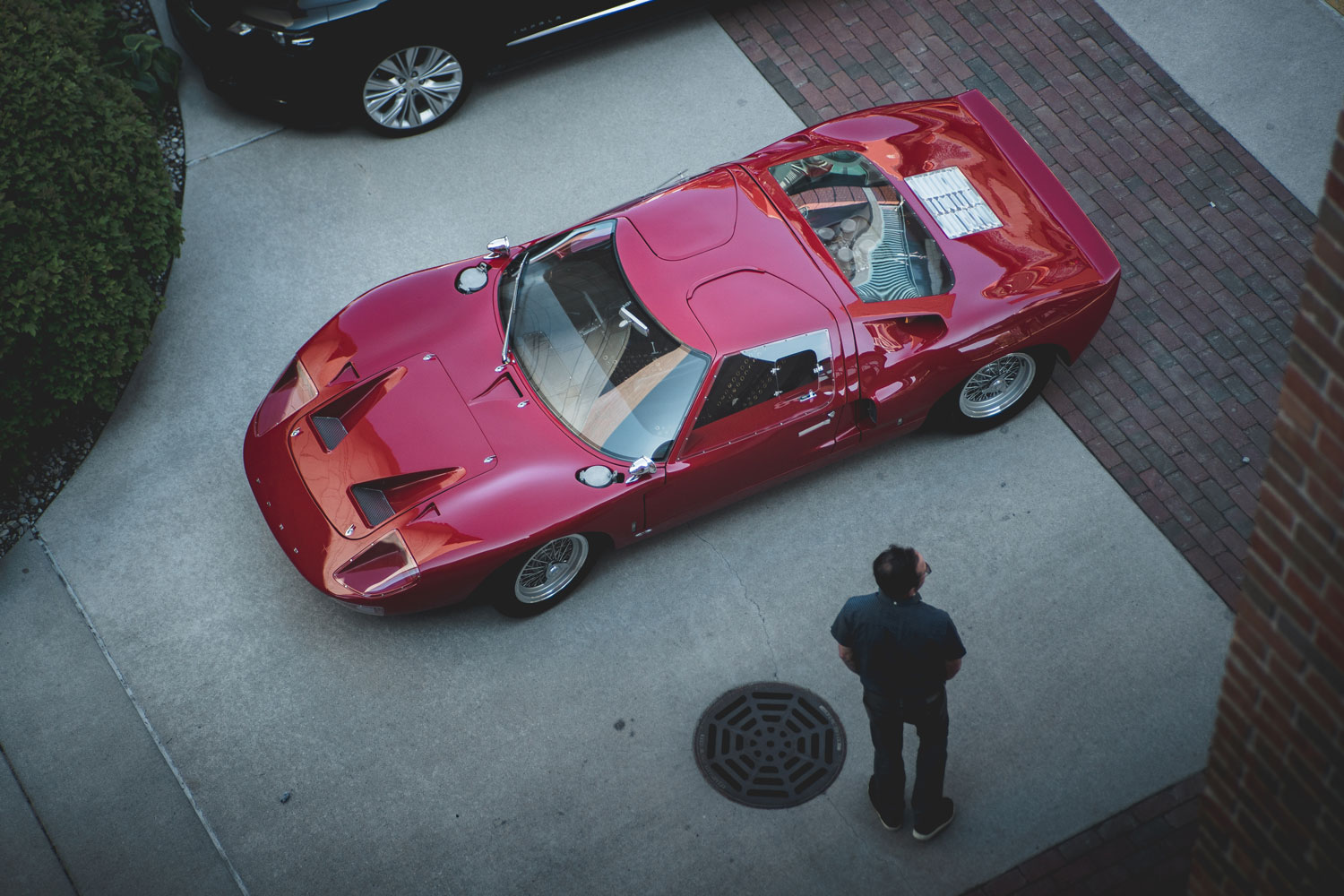 Red 1967 Ford GT40 Mk1