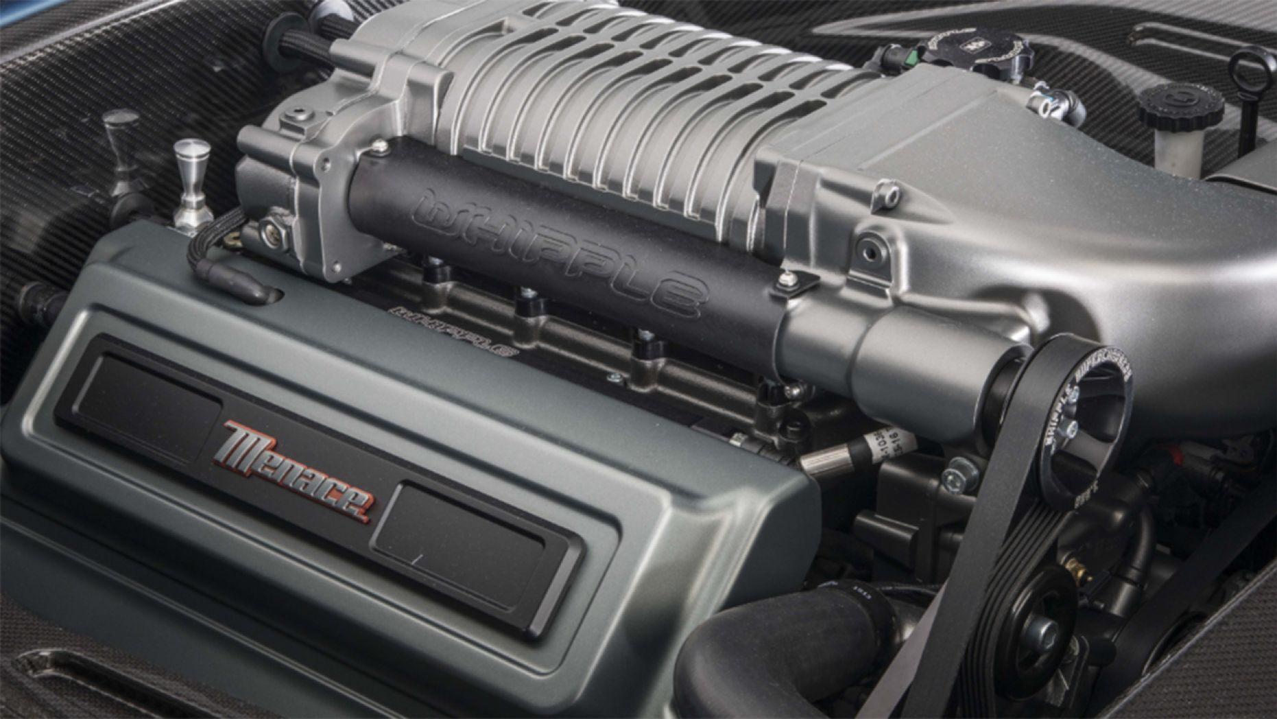 1970 Plymouth 'Cuda engine