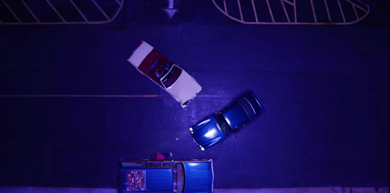 Overhead Crash Shot