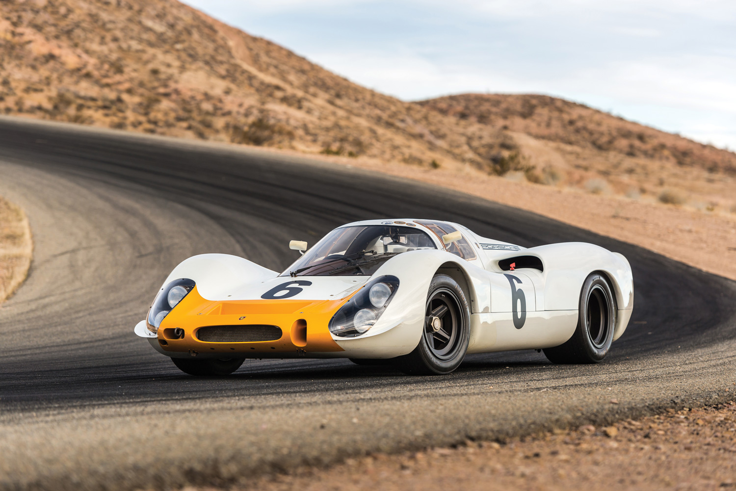 1968 Porsche 908 Works 'Short-Tail' Coupe