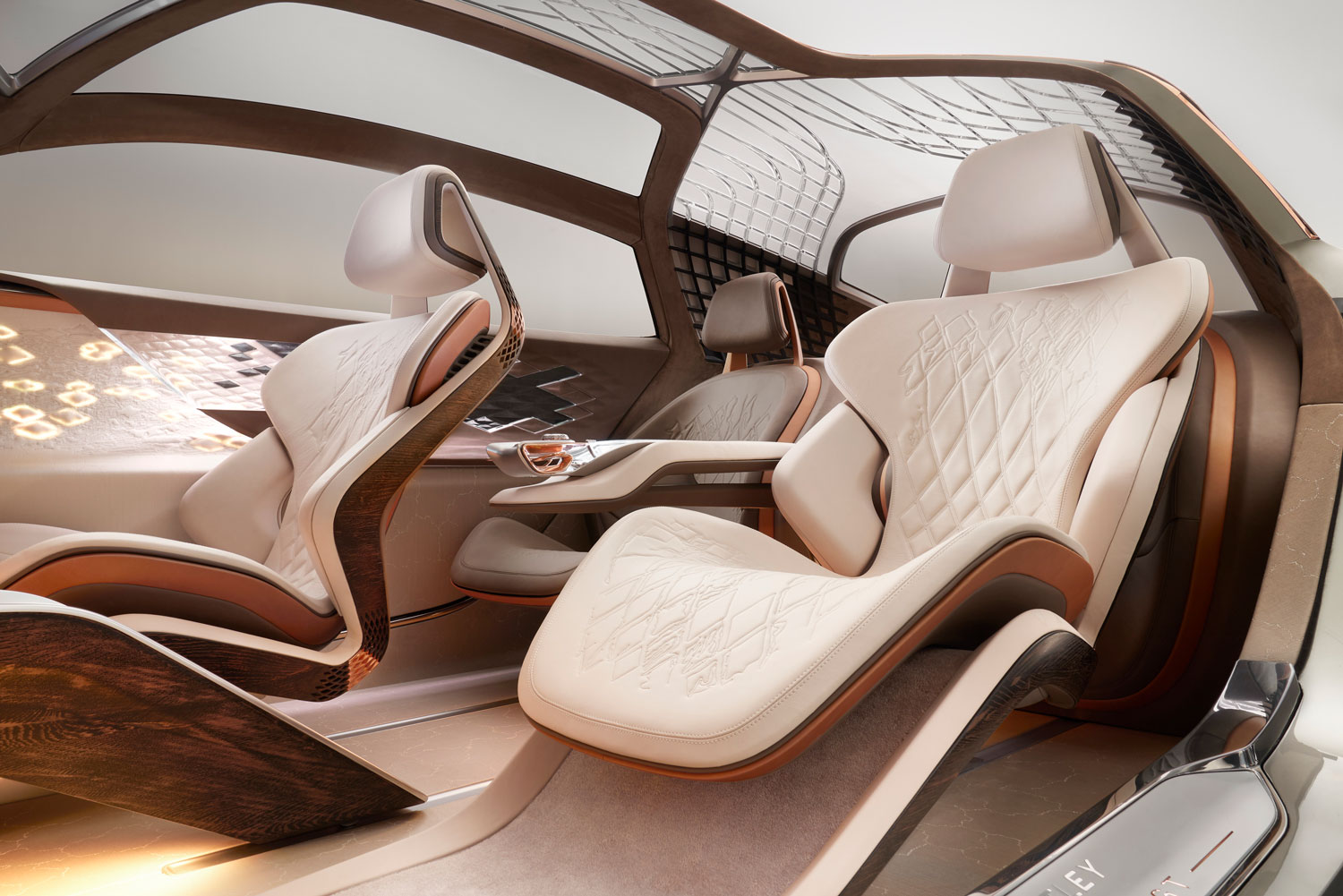 Bentley EXP 100 GT Interior