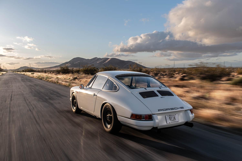 Emory Porsche 911K Emory Motorsports rear 3/4