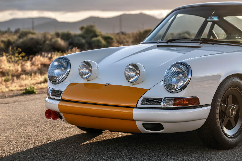 Emory Porsche 911K nose