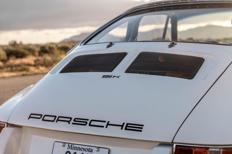 Emory Porsche 911K rear lid