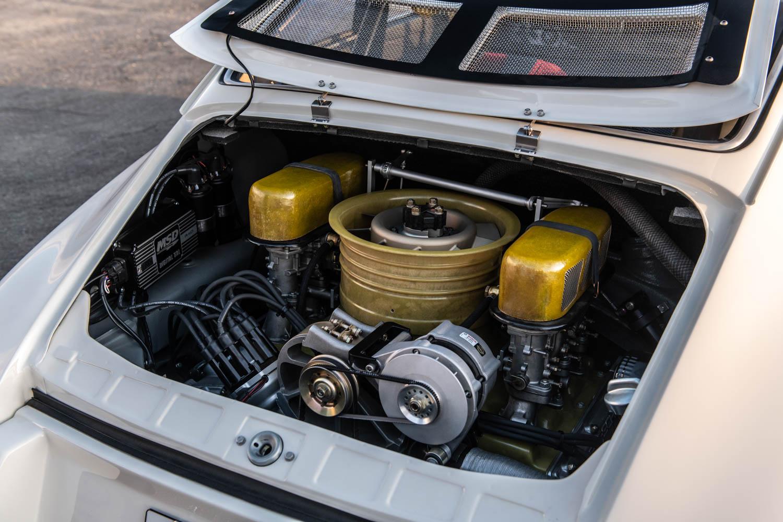 Emory Porsche 911K engine