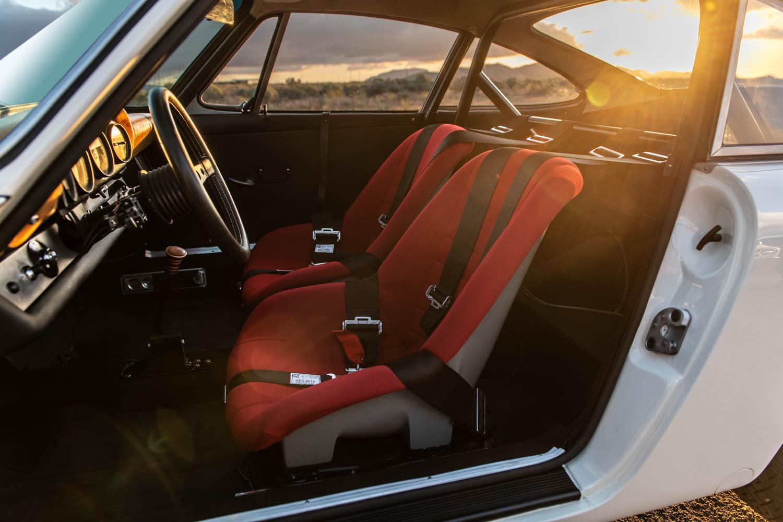 Emory Porsche 911K seat detail