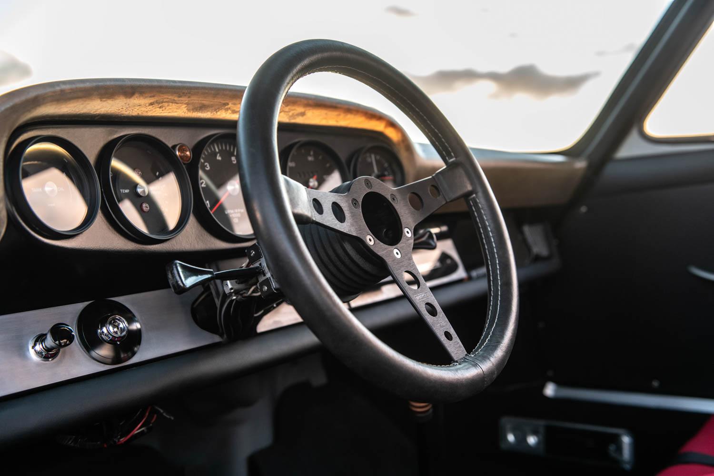 Emory Porsche 911K steering wheel