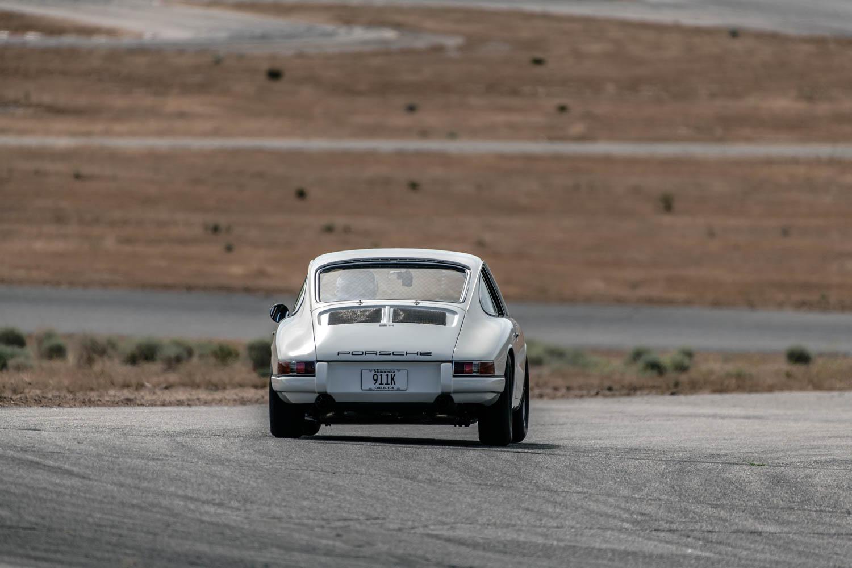 Emory Porsche 911K rear