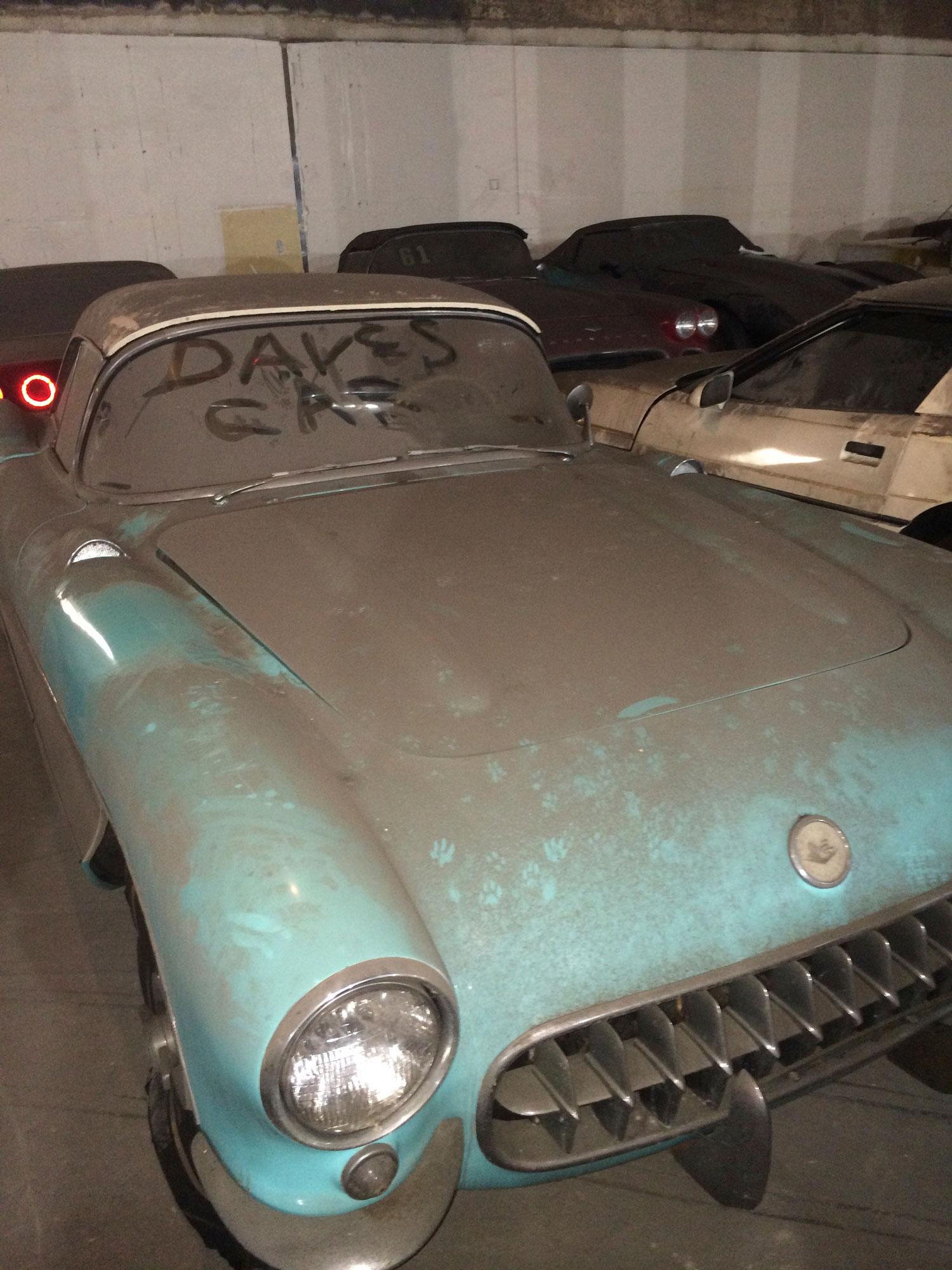 1956 Corvette Peter Max Collection