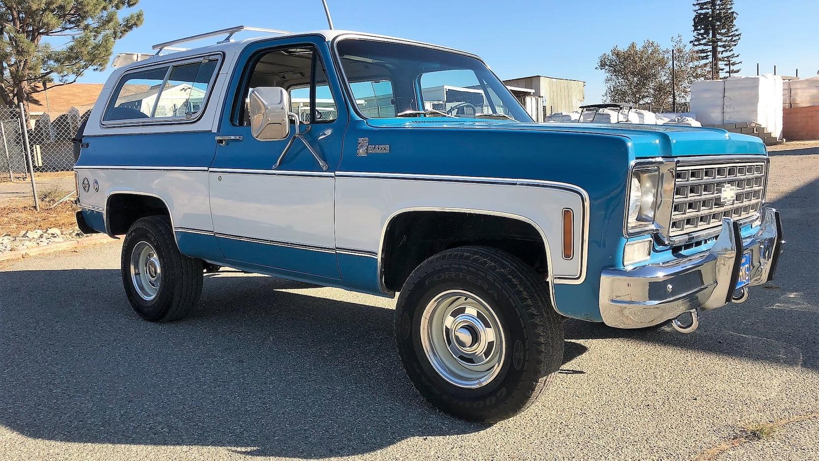 1977 Chevrolet K10 Blazer Cheyenne