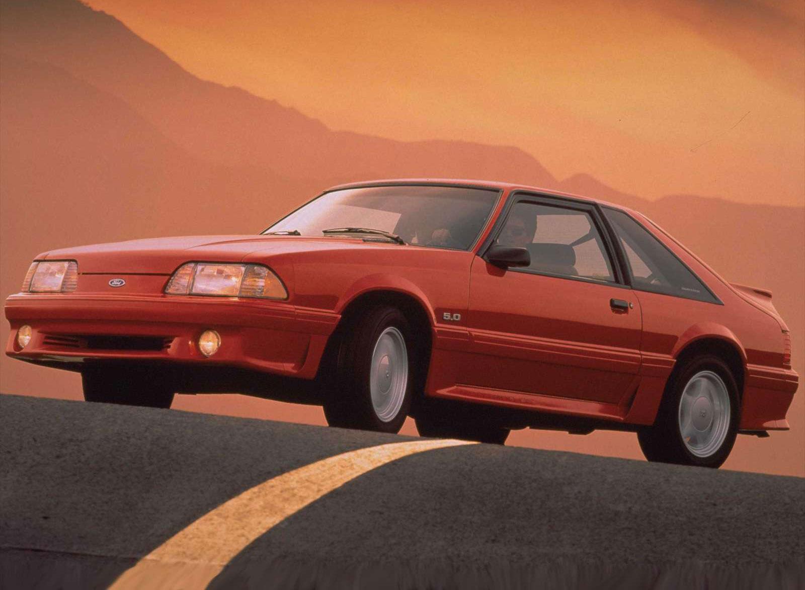 1993 Ford Mustang 5.0 GT Hatchback