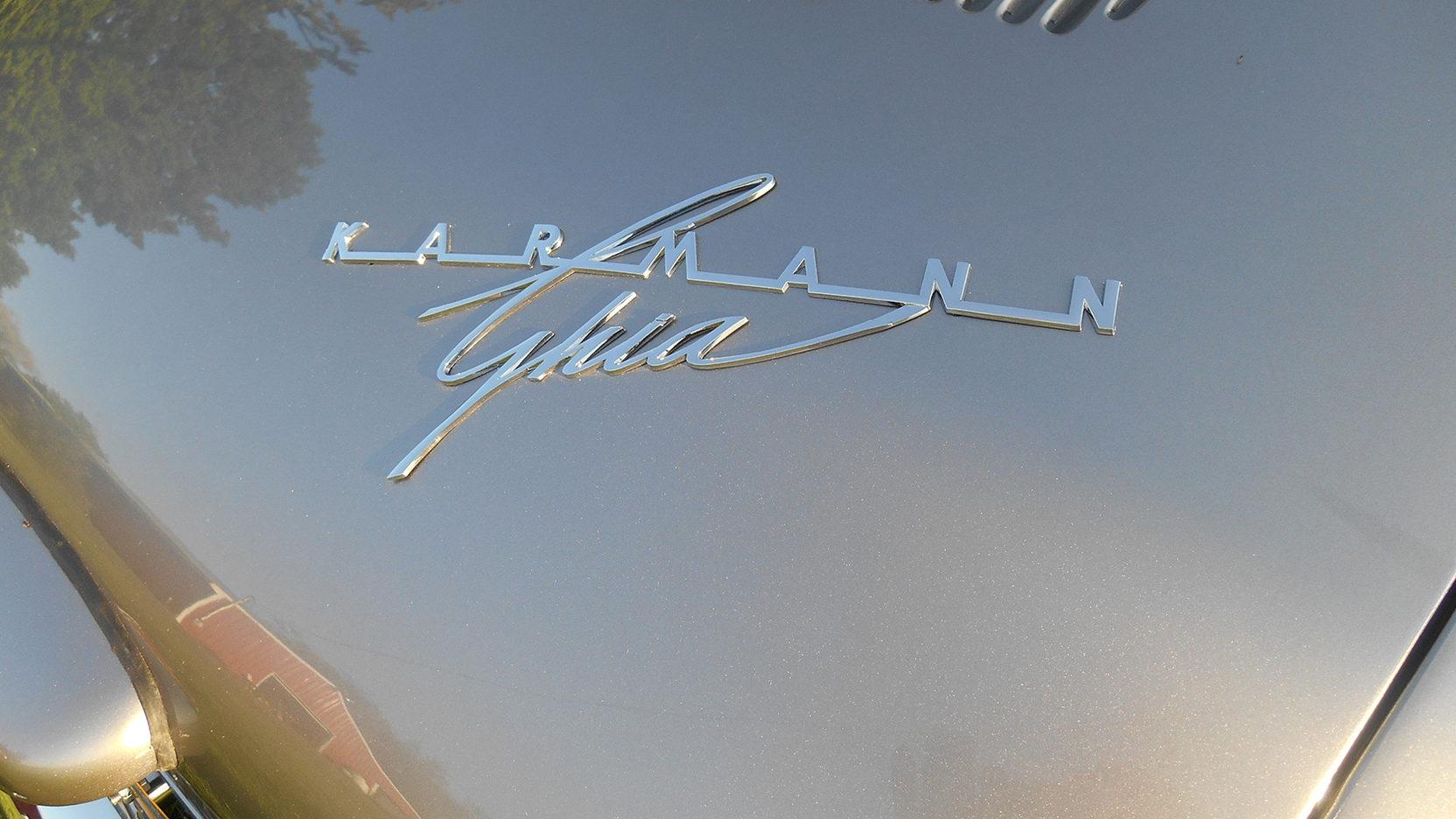 1958 Karmann Ghia badge