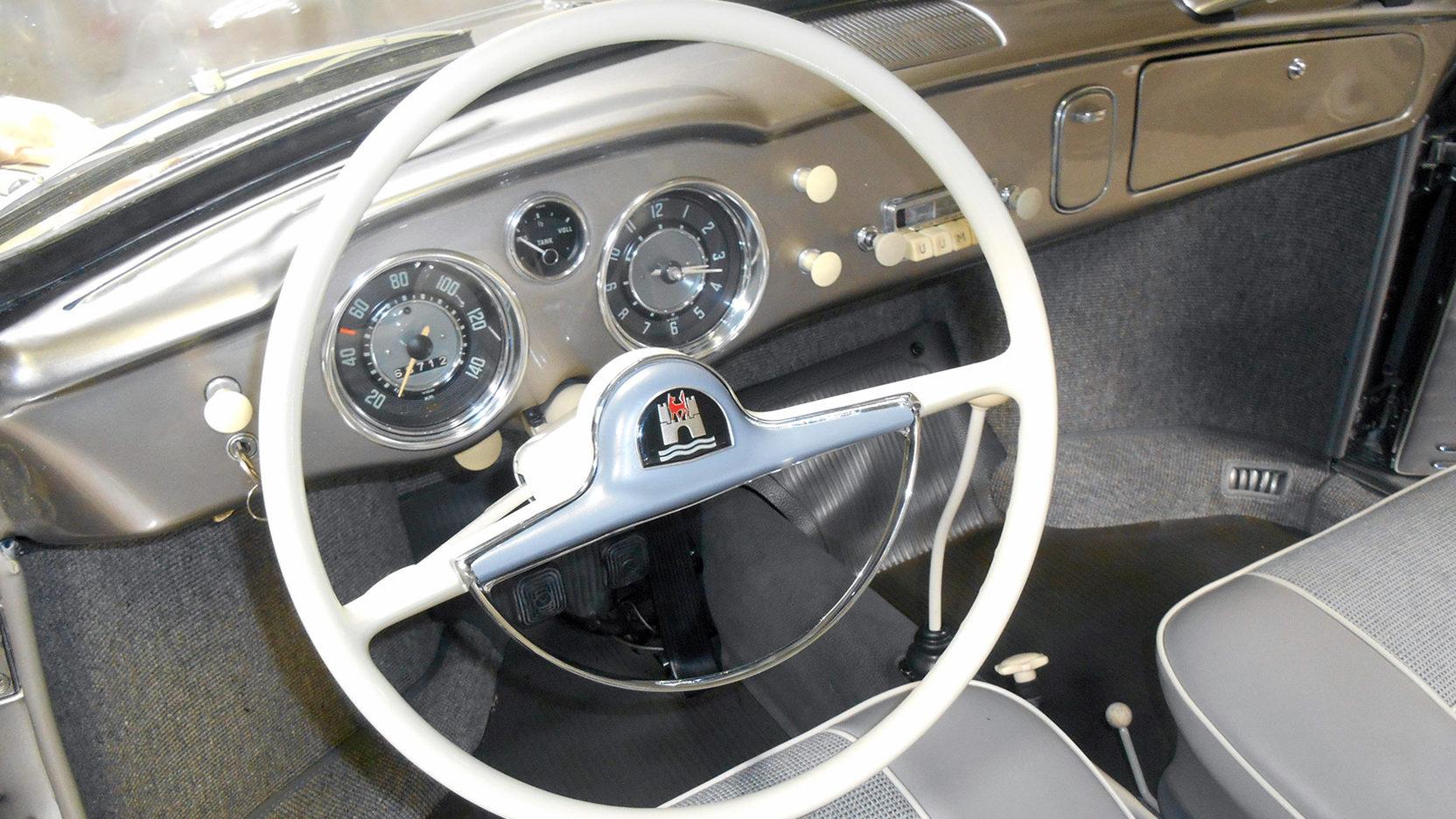 1958 Karmann Ghia steering wheel