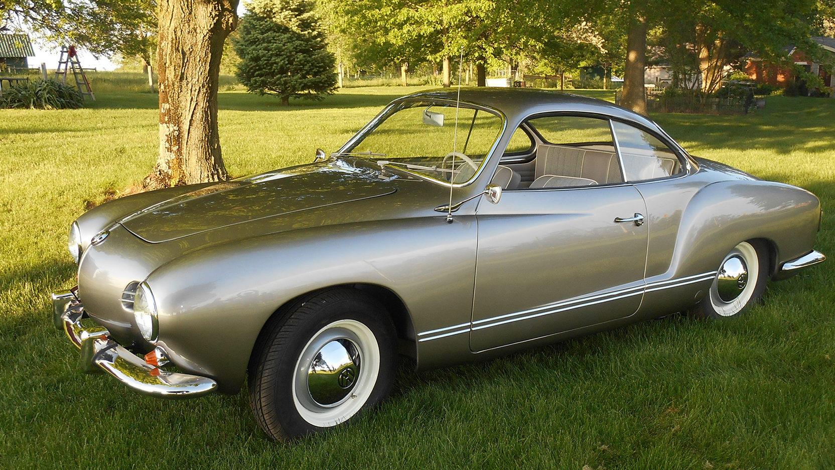 1958 Karmann Ghia front 3/4
