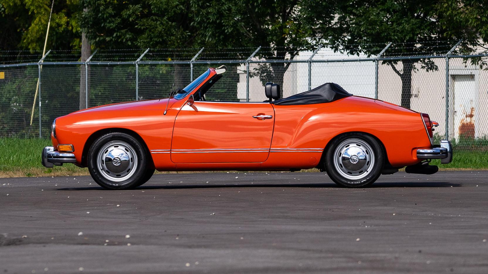 1974 Karmann Ghia profile
