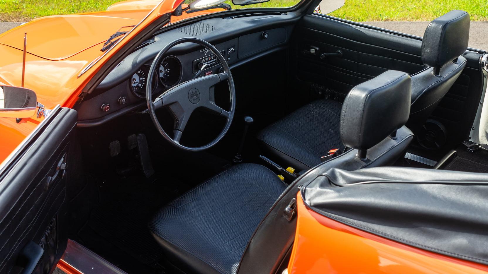 1974 Karmann Ghia interior
