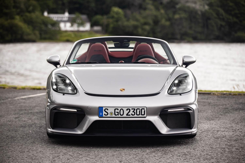 Porsche 718 Spyder nose