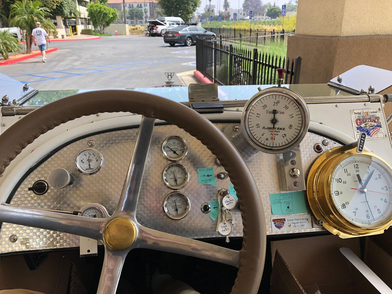 1916 Hudson Speedster Dashboard