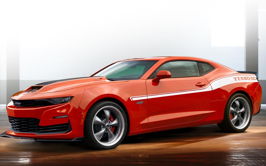 Orange 2020 1000HP Stage II Yenko/SC Camaro