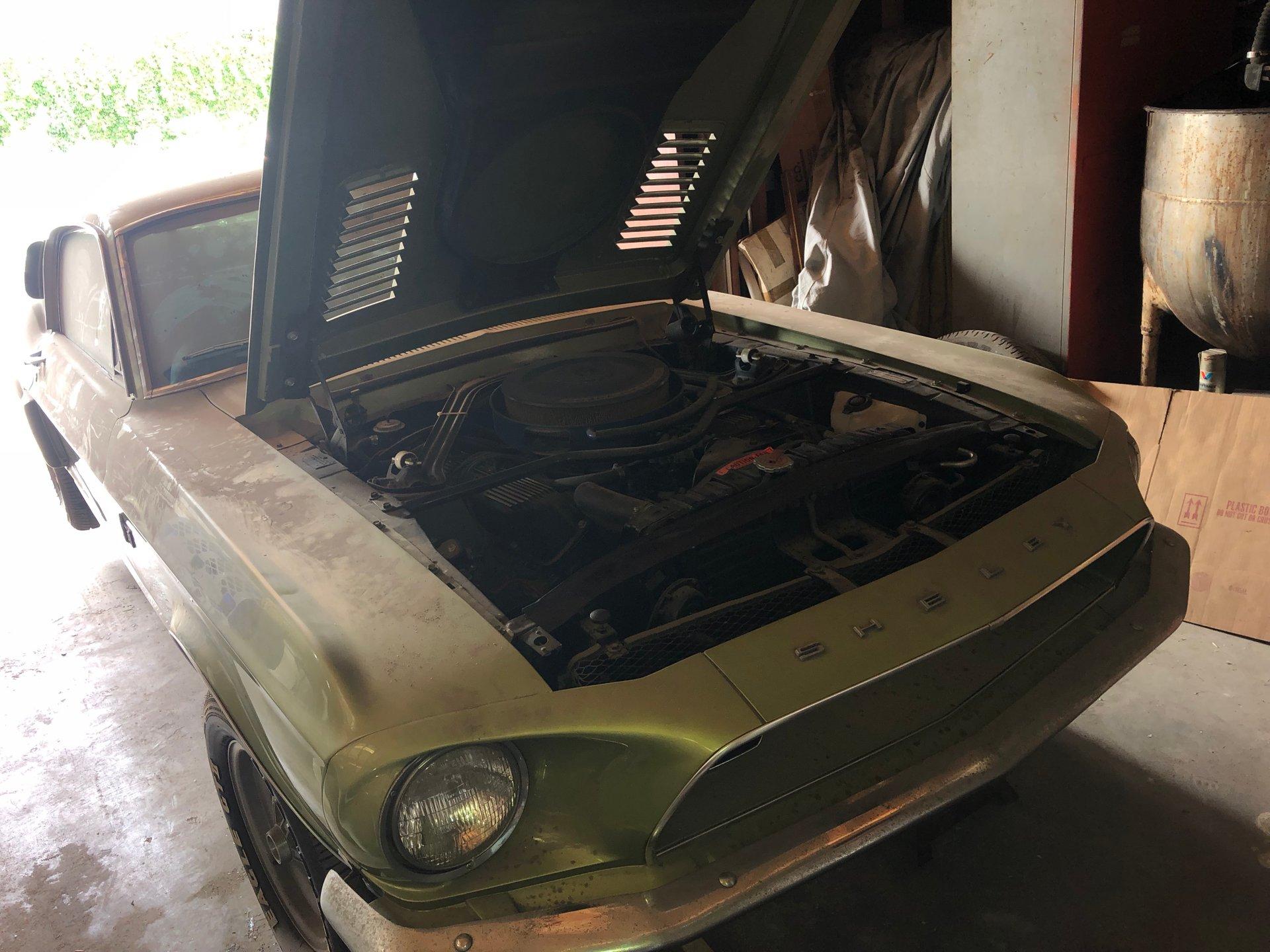 1968 Shelby GT500KR barn find