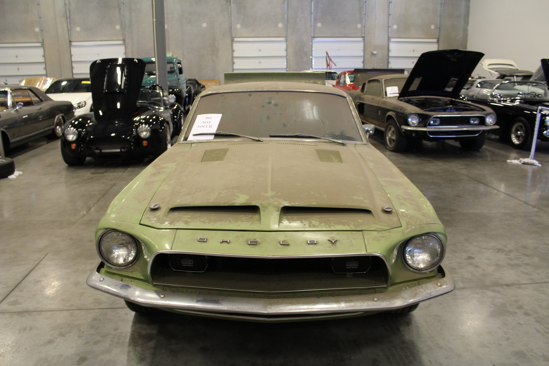 1968 Shelby GT500KR front