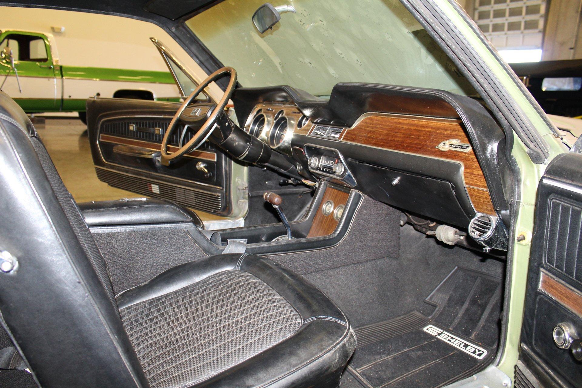1968 Shelby GT500KR interior