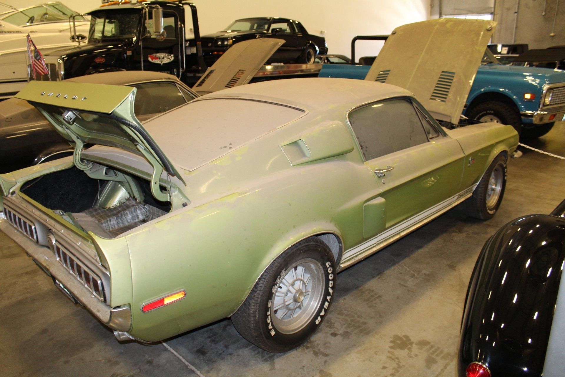 barn find 1968 Shelby GT500KR rear 3/4